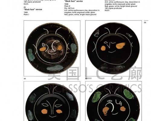 Picasso. Catalogue of the edited ceramic works